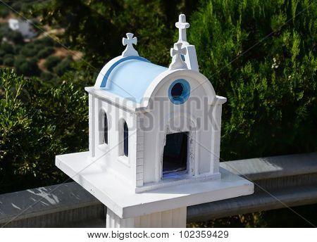 Kandylakia -  typical greek miniature roadside shrine