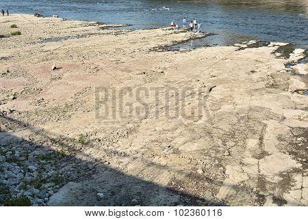 Elbe near Magdeburg
