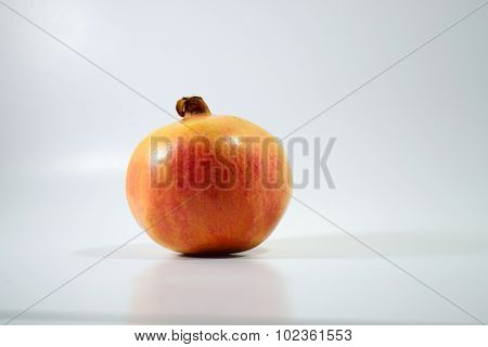 Pomegranate White Background