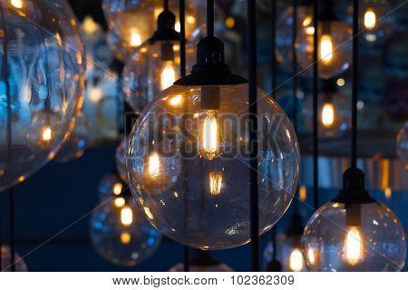 Gold Lighting Decoration