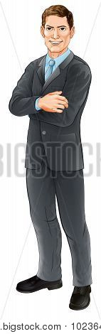 Businessman Character