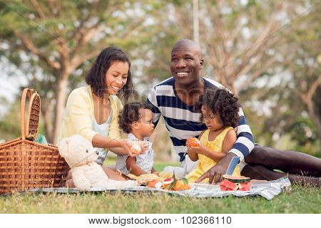 Picnicking Together