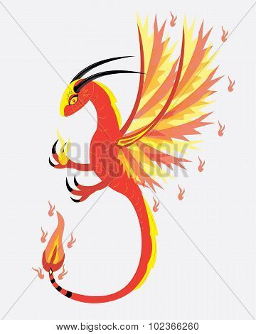 Spirit of fire dragon