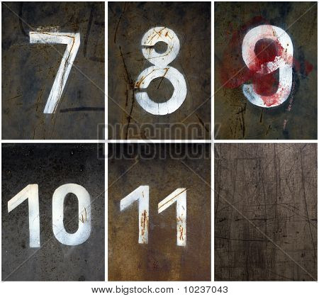 Rusty Numbers 7-11