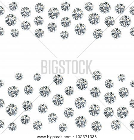 Set of greyscale, black gems