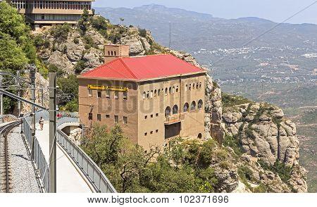 Station Of Cableway Montserrat-aeri