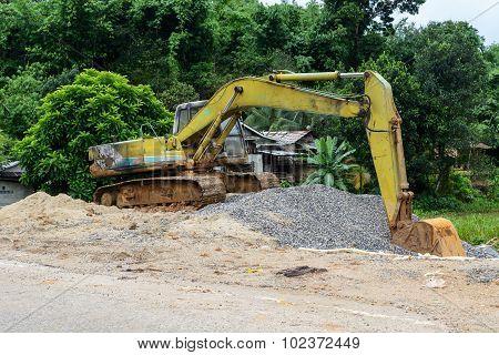 Digger excavator bucket bulldozer