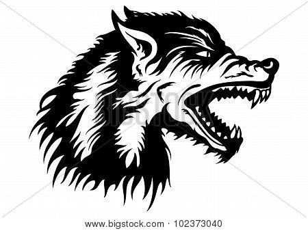 Wolf Head Emblem