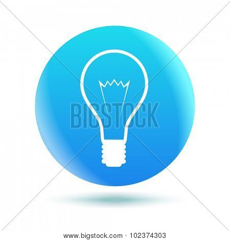 Blue Idea Icon