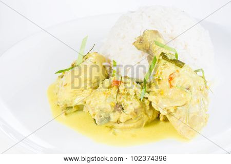 Indonesian Chicken Cuisine