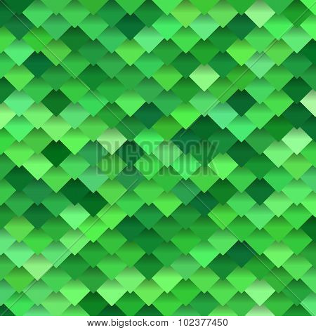 Background of bright green rombus crocodiles scales