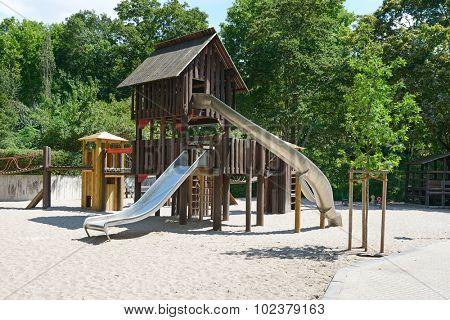 Children's playground in the park