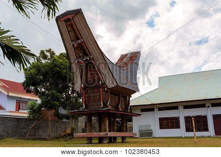 Toraja Ethnic Architecture, Bitung City