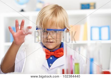 Curious little chemist