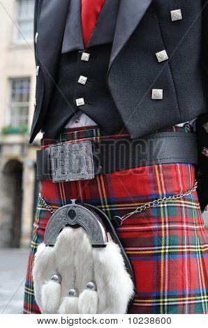 Scotsman In His Kilt