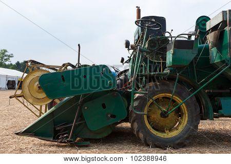 Old Grain Thresher