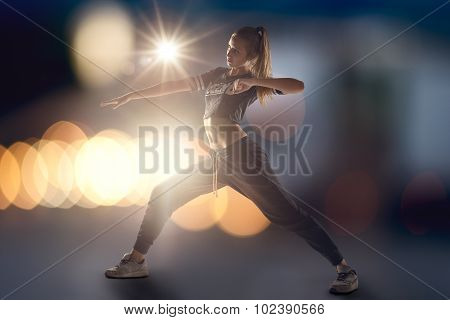 Female Hip Hop Dancer