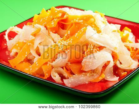 Healthy Carrot And Turnip Salad