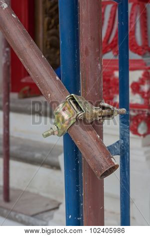 Scaffolding Pipe Clamp And Parts.