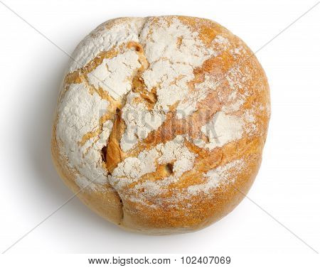 Rounded Bread From Above