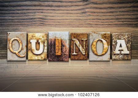 Quinoa Concept Letterpress Theme