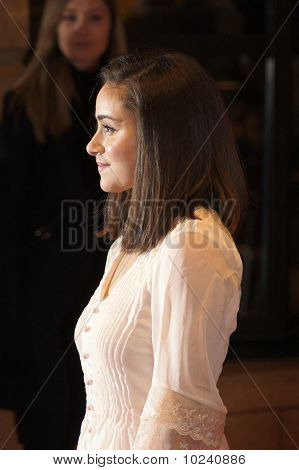Yasmin Paige At The Submarine Premiere In Central London 22 October 2010