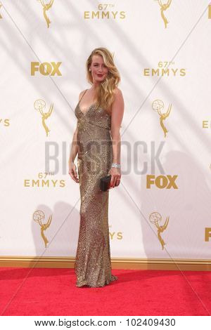 LOS ANGELES - SEP 20:  Cat Deeley at the Primetime Emmy Awards Arrivals at the Microsoft Theater on September 20, 2015 in Los Angeles, CA