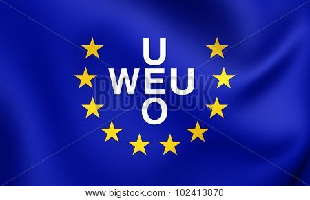 Flag Of Western European Union (1954-2011)
