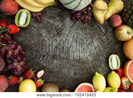Fruit Background.