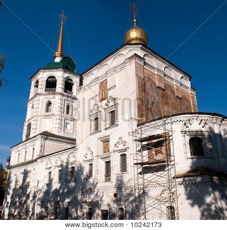 Spasskaya (The Saviour) church in Irkutsk