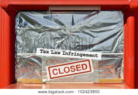Tax Law Infringement