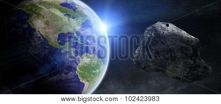 Asteroids Threat Over Planet Earth