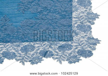 Nice scarf isolated on the white