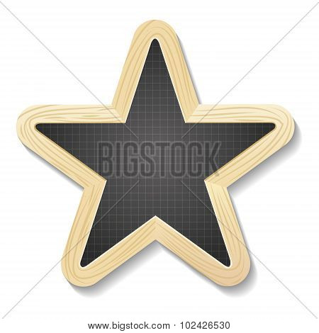 Star Shapped Slate