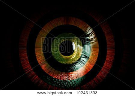Human eye â?? abstract vision concept