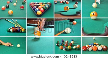 Billiard Game Concept