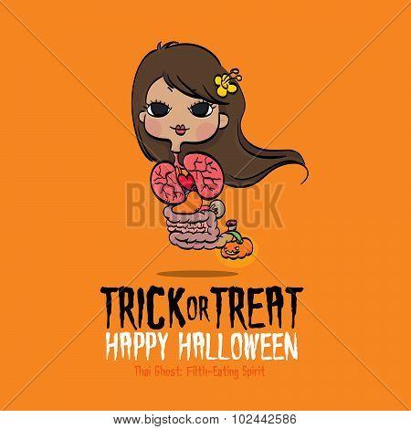 Halloween Thai Ghost