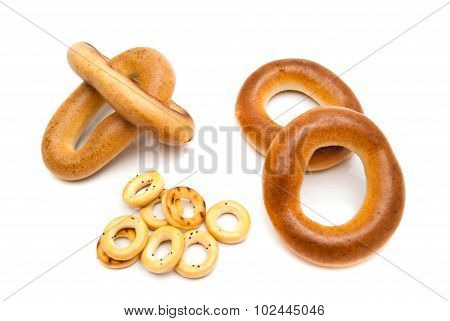 Different Tasty Bagels