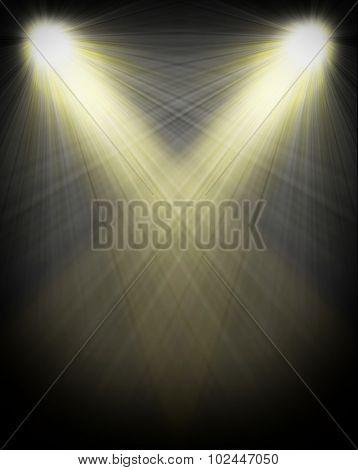 spotlight Black and White Lighting Equipment
