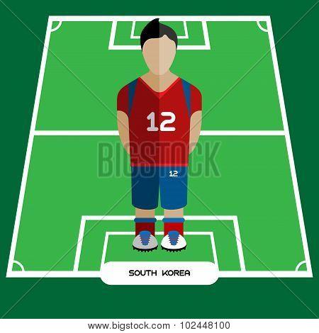 Computer Game South Korea Football Club Player
