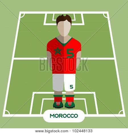 Computer Game Morocco Football Club Player