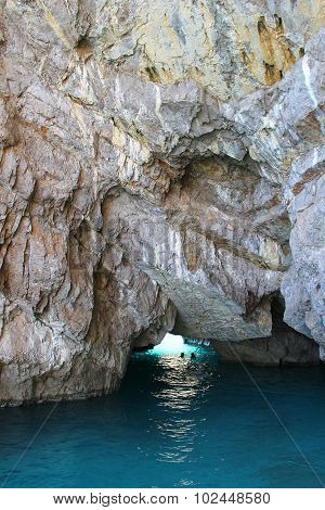 Grotto In Capri