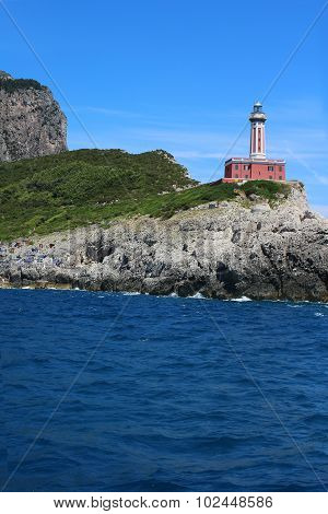 Lighthouse In Capri