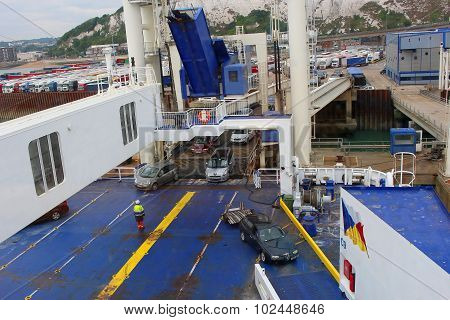 Ferry Ship Loading