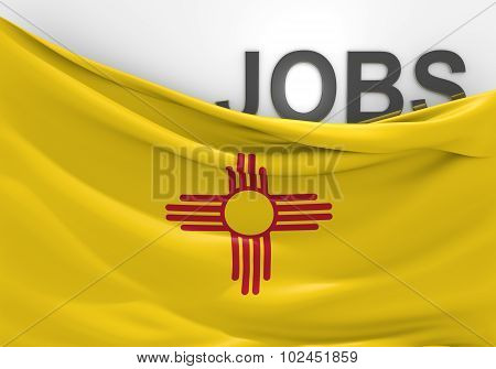 New Mexico jobs and employment opportunities concept