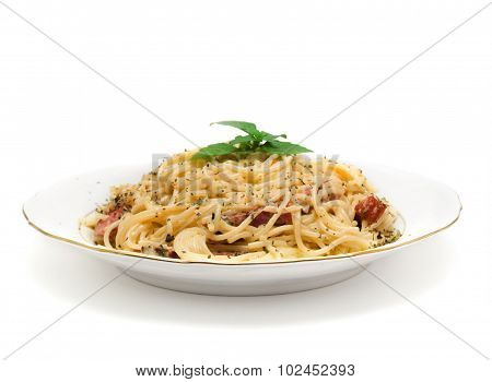 Mediterranean Food Collection - Spaghetti Carbonara