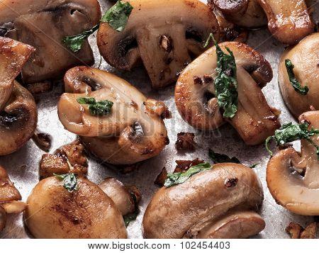 Rustic Sauteed Mushroom