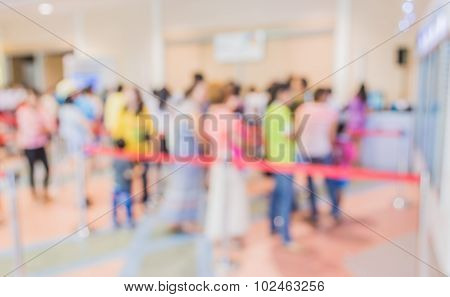 People In Queue