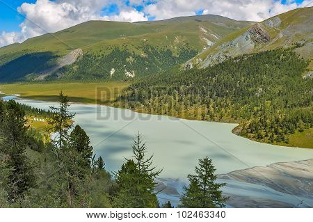 Akkem Valley. Altai. Russia