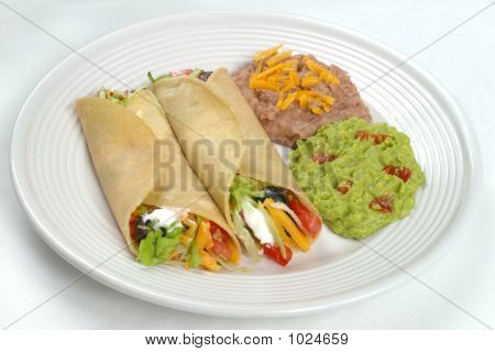 Mexican Food - Taco Plate
